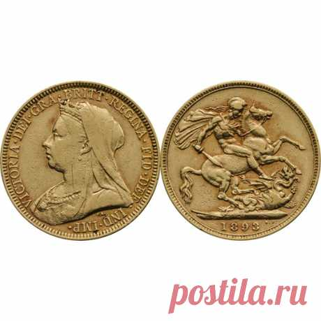 1893 Victoria Sovereign Very Fine   The Royal Mint