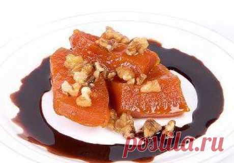 Восточная тыквенная сладость - кулинарный рецепт с фото на Повар.ру