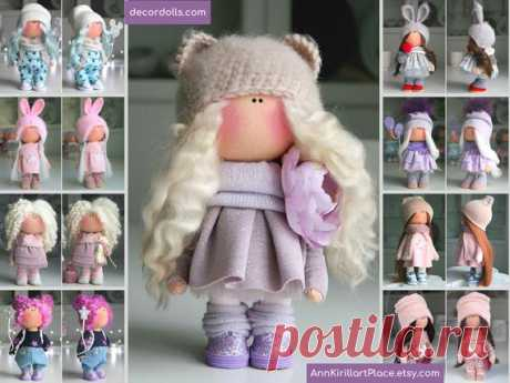 Bambole Baby Doll Handmade Bonita Doll Fabric Puppen Doll | Etsy Hello, dear visitors!  This is handmade soft doll created by Master Lyuba (Tula, Russia). Doll is made by Order. Order processing time is 3-4 days.  All dolls on the photo are made by master Lyuba. You can find them in our shop using masters name: