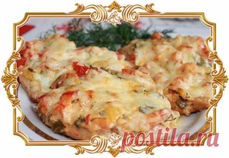 Куриное мясо с помидорами по-французски  Курица с овощами и сыром – ничего лишнего и тяжелого для желудка.  Сложность: средняя. Показать полностью…