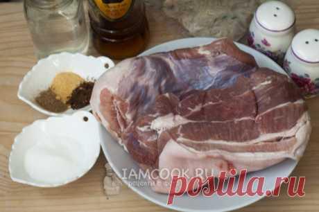 Колбаса из свиной грудинки — рецепт с фото пошагово