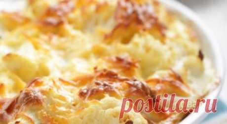 Цветная капуста с сыром (запеченная в духовке) - пошаговый рецепт с фото на Повар.ру
