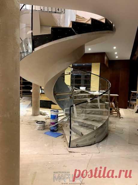 Изготовление лестниц, ограждений, перил Маршаг – Моллированные лестничные ограждения