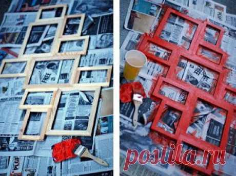 Хендмейд-ідеї: Мульти-рамка для фото