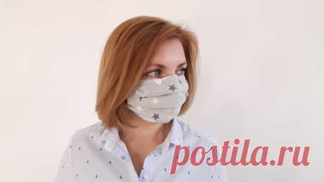 Как пошить маску для лица в домашних условиях: из ткани, марли