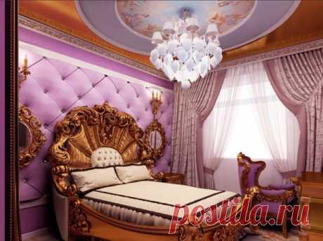 Спальни в стиле барокко! Богато и дорого