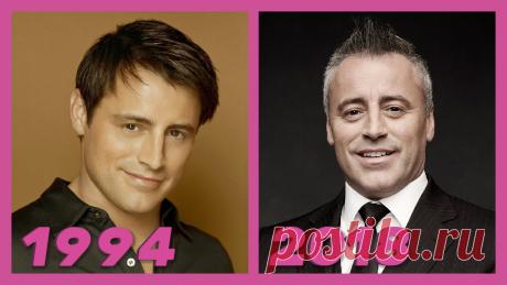 """Как изменились актеры """"Friends/Друзья"""" тогда, в 1994, и какими стали сейчас, спустя годы?"""