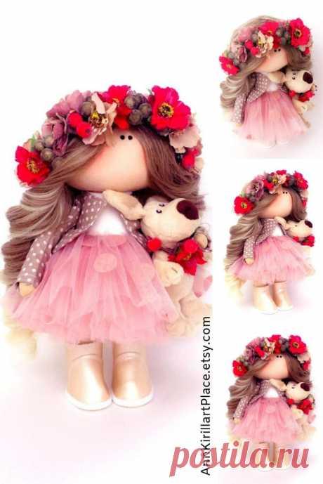 Muñecas Bonita Doll Handmade Nursery Decor Doll Bambole | Etsy