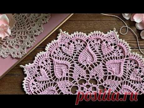 Tığ işi Örgü Çeyizlik Yuvarlak ve Kare Modeller & Crochetdesign