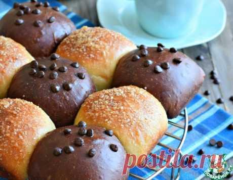 Булочки шоколадные и ванильные – кулинарный рецепт