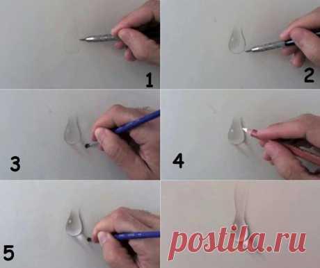 Как нарисовать 3d рисунок — Сделай сам, идеи для творчества - DIY Ideas