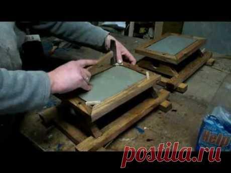 Как я делал деревянный светильник - YouTube