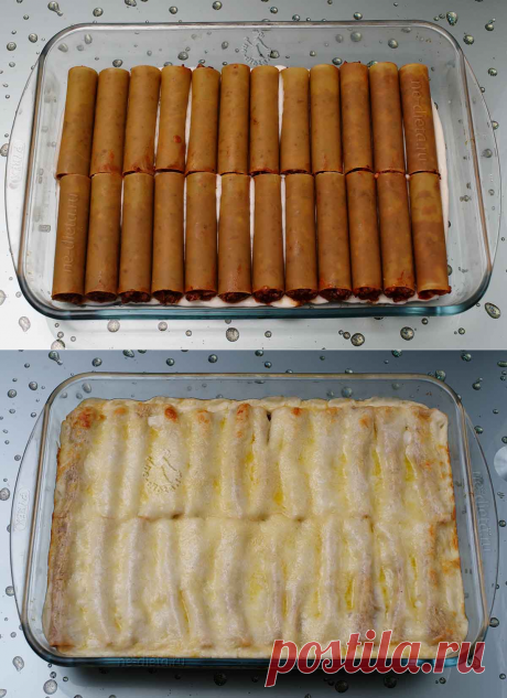 Каннеллони с фаршем - рецепт с пошаговыми фото | ne-dieta