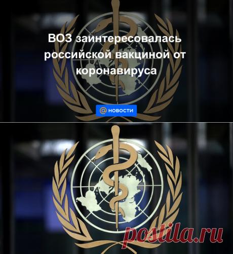 ВОЗ заинтересовалась российской вакциной от коронавируса - Новости Mail.ru