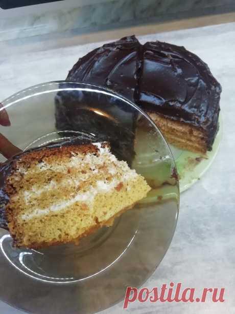 Домашние рецепты. Торт медовик в мультиварке