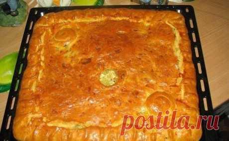 Замечательный рецепт пирога с куриным мясом вашему вниманию. Пышное тесто, нежная курочка внутри - что может быть вкуснее!😊 ЛЮБИМЫЙ БАБУШКИН КУРНИК Ингредиенты: Тесто: -мука 3-4 стакана; -250 гр.маргарина (пачка); -1 стакан кефира или сметаны; -1 чайная л. соды(без горки); -щепотка соли Начинка: -картофель сырой очищенный 3-4 шт; -мясо (филе) куриное-2 грудки; -Лук-2-3 головки; -соль, специи Тесто: 1. Муку просеять, посолить, добавить соды, растопленный маргарин и кефир, замесить мягкое,…