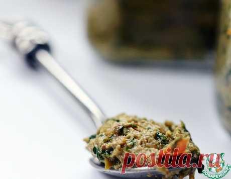 Аджика из базилика с орехами – кулинарный рецепт