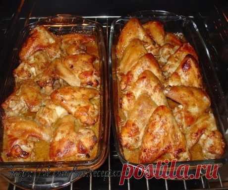 Куриные крылышки: 6 рецептов на любой вкус  1. Куриные крылышки, запеченные по-простому  Понадобится: Показать полностью…