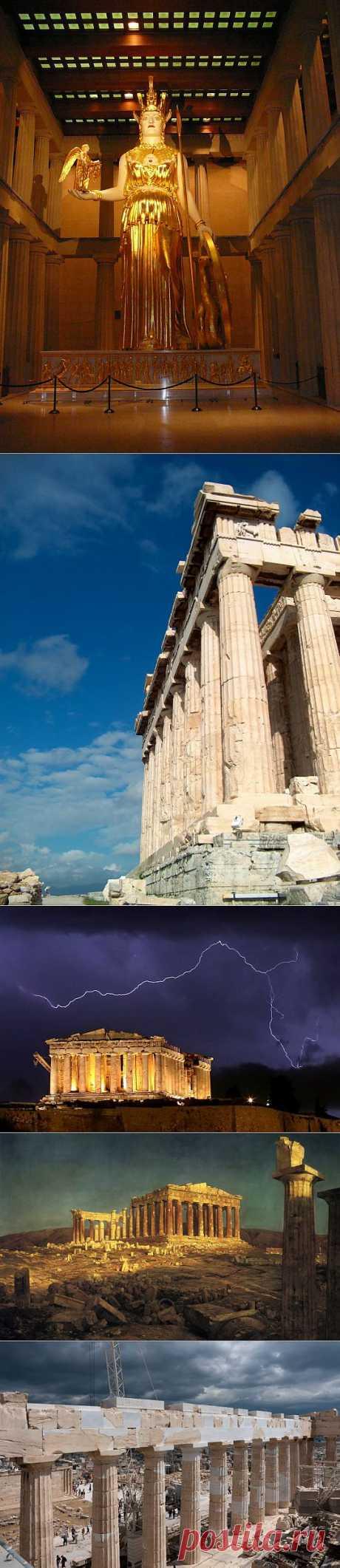 Парфенон, Греция   ТУРИЗМ И ОТДЫХ