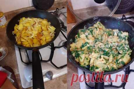 Подборка простых блюд на сковороде »