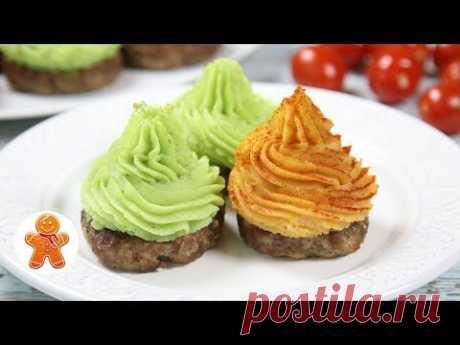 Горячее Порционное Блюдо на Праздничный Стол ✧ Разноцветные Стожки