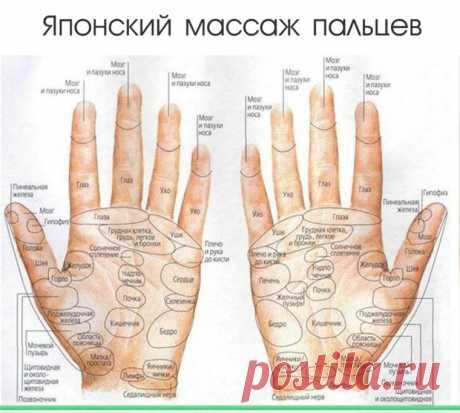 Как делать японский массаж пальцев и не только — Полезные советы
