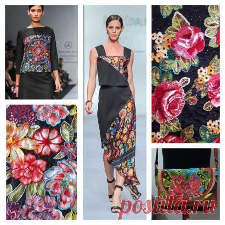 Райские сады бразильской вышивки – Ярмарка Мастеров