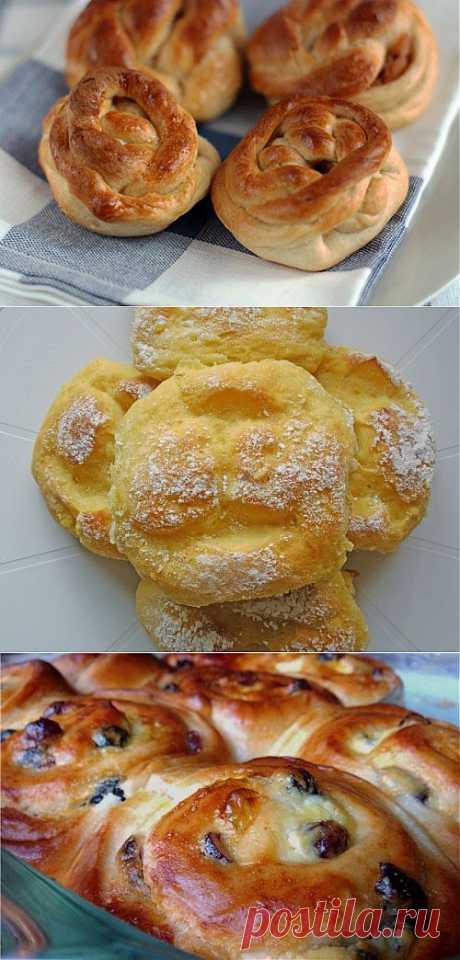 Фруктовые булочки: 5 рецептов / Простые рецепты