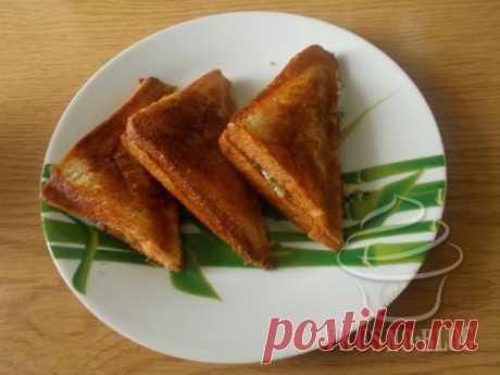 Сендвичи с курицей в бутерброднице - рецепт с фото