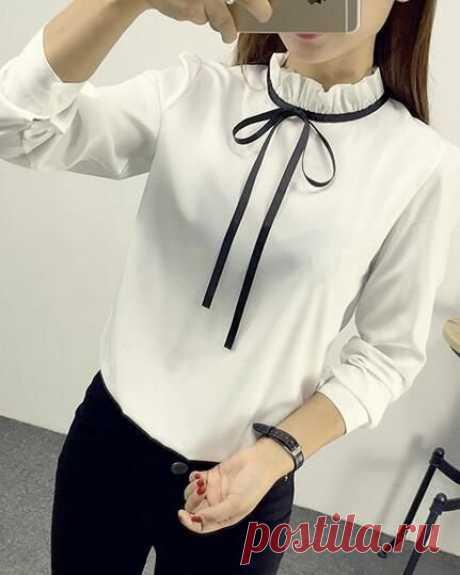Актуальный тренд:18 белых блузок без которых не обойтись — В РИТМІ ЖИТТЯ