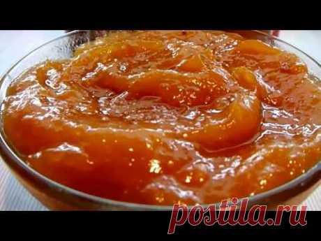 НЕРЕАЛЬНО ВКУСНО!!!Персиковый джем из кабачка и кураги! Все просят рецепт!!!