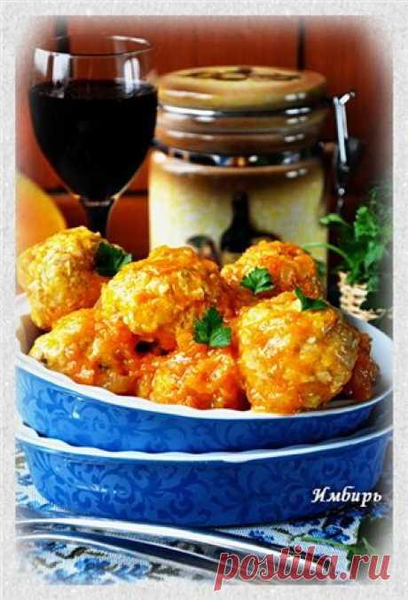 Куриные тефтели с тыквой : Простые рецепты для вкусной жизни