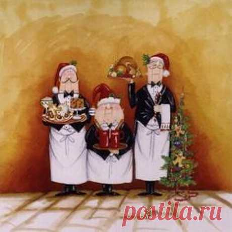 Christmas Waiters (Tracy Flickinger)