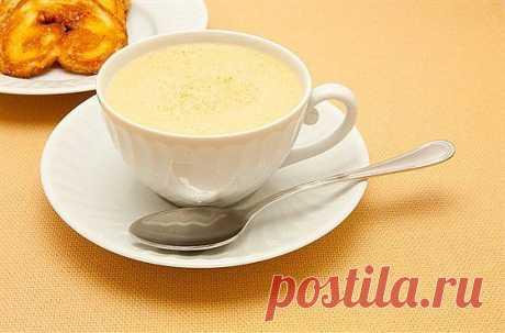Чай латте со специями для здоровья.