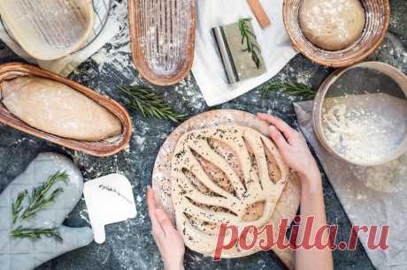 Рецепт фугасов с оливками на закваске   Всем Хлеб!