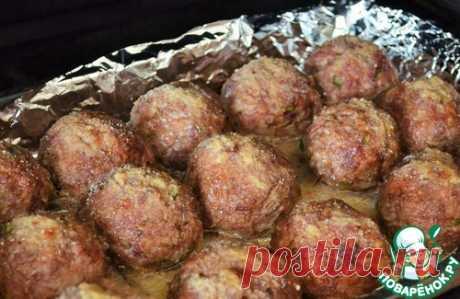 Мясные колобки в духовке – кулинарный рецепт