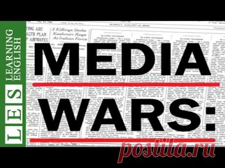 Learn English Through Story ★ Subtitles: Media Wars (Level 3)