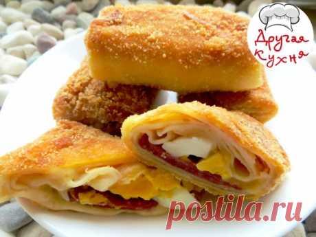Завтрак за пять минут- вкусные фаршированные блинчики по-индонезийски - Простые рецепты Овкусе.ру
