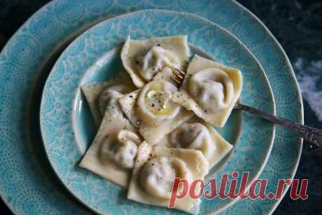 """The excellent recipe of the test for ravioli\"""" Recipes\"""" the Culinary magazine of Nastya Ponedelnik. Culinary recipes with a photo."""