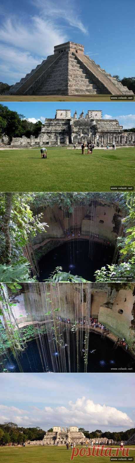 Священный город Чичен-Ица (21 фото+видео) | Релаксик