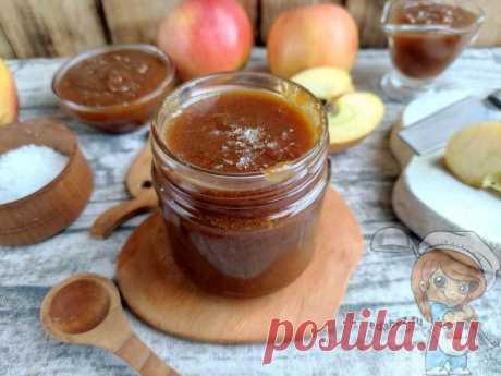 Яблочная карамель с солью на сковороде. Рецепт домашней карамели на зиму Яблочную карамель можно использовать для приготовления рулетов, кремов и десертов. Мягкая, тягучая со сливочным вкусом и яблочным ароматом карамель сведёт с ума любого любителя сладости