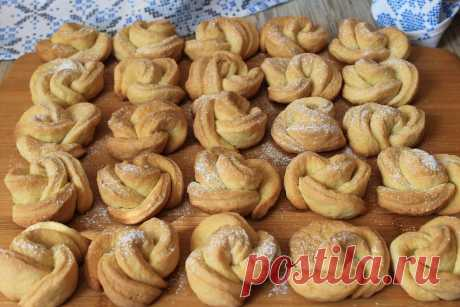 Показываю, как я делаю очень вкусное творожное печенье: простой и легкий рецепт   Я Готовлю...   Яндекс Дзен