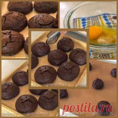 Шоколадное печенье «Лакомка» с начинкой из нутеллы