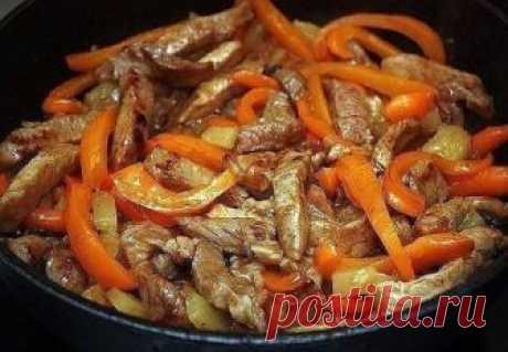 """Мясо по-тайски - вы просто влюбитесь в эту вкуснятину! Рецепт под фото. Ставьте """"Класс!"""" и """"Поделиться!"""", чтобы сохранить его на своей страничке!"""