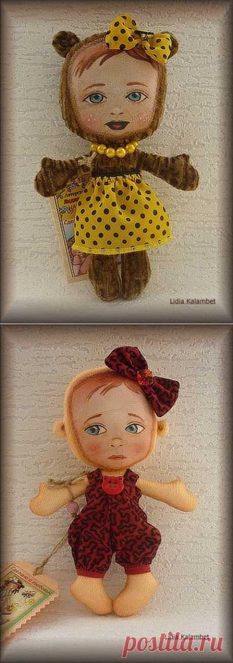 Куклы - примитивы | Золотые Руки