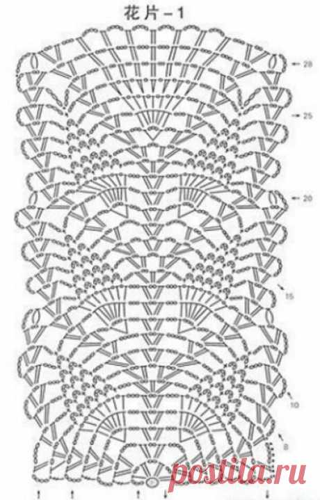 Кружевное платье крючком описание. Длинное платье для лета крючком