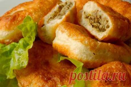 Пирожки с мясом Те самые, советские - рецепт с фото