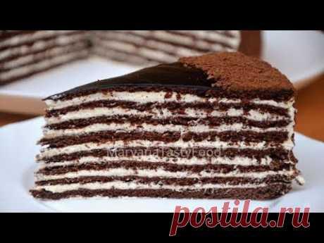 ✧ ТОРТ СПАРТАК. Шоколадный Медовик и Красавец! ✧ Spartak Cake ✧ Марьяна