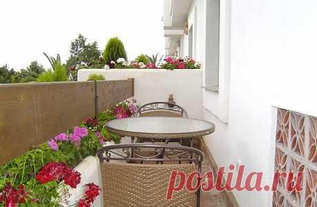 Идеи оформления небольших балконов
