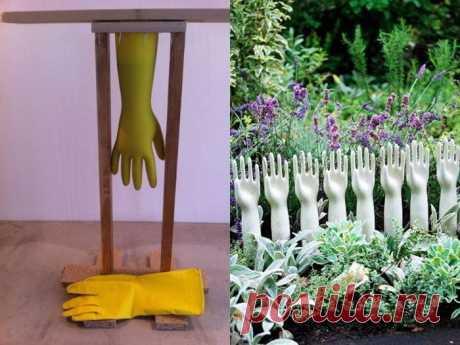 Цемент можно использовать не только в строительстве! 15 идей декора для сада — Мир интересного